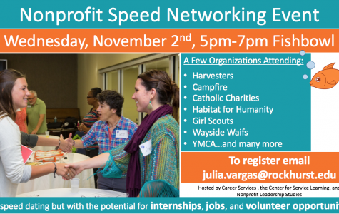 Students Encouraged to Attend Non-Profit Speed Networking Event