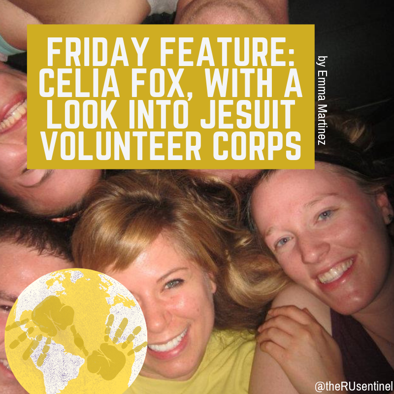 Feature: Celia Fox, with a look into Jesuit Volunteer Corps